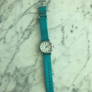 Turquoise Timex Watch